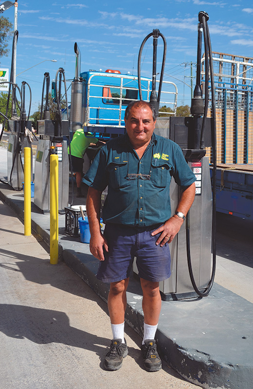 Peter Joseph from Harden Fuel Supplies