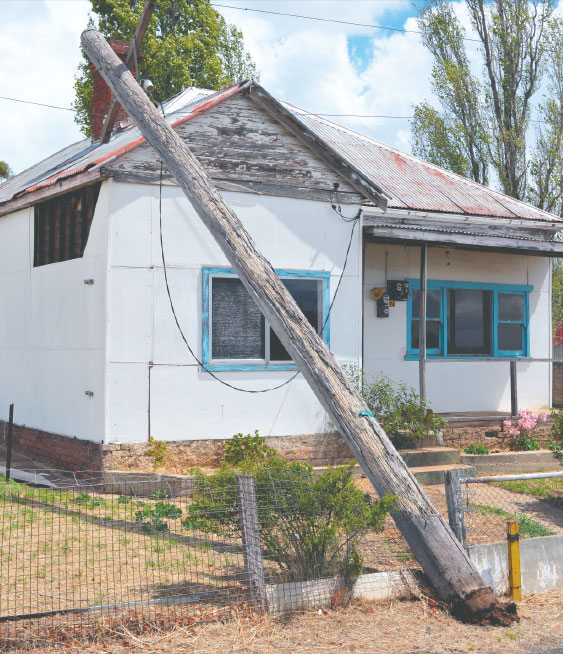 Jugiong storm damage