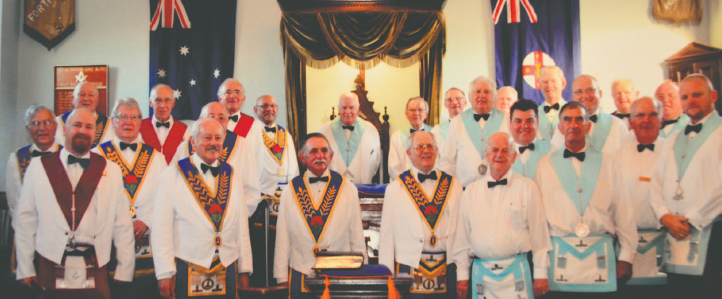 Officers of Federal United and Grand Lodge Masonaries
