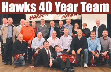 Hawks 40 year team
