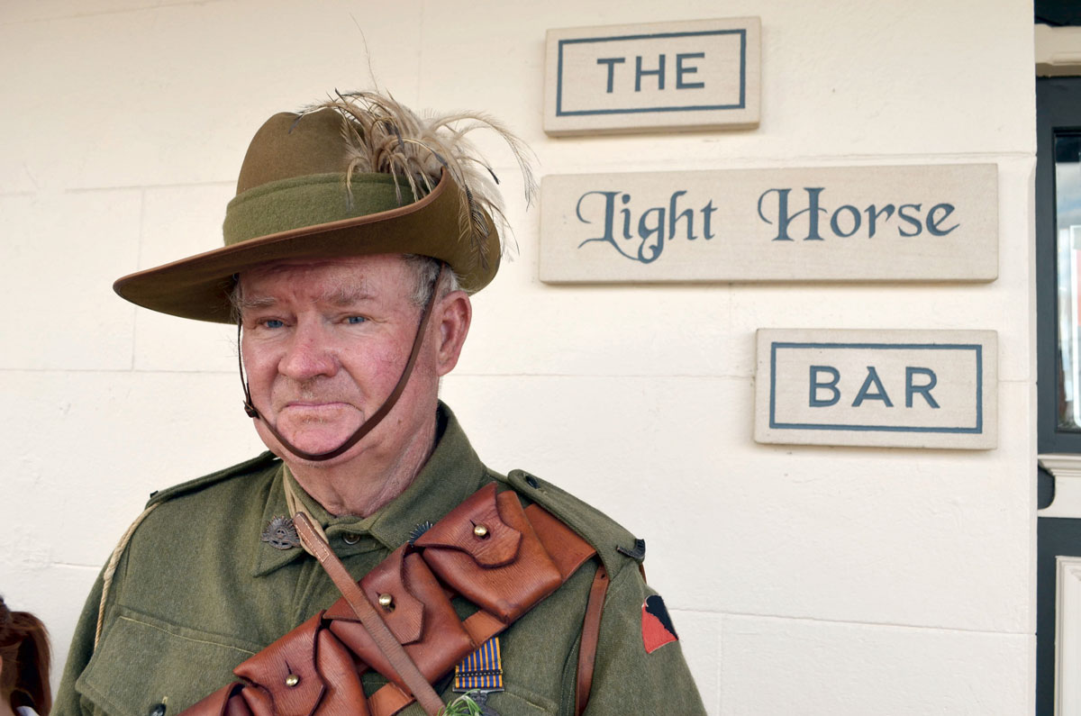 Murrumburrah Australia  city images : ... McCormack Light Horse member at the Light Horse Hotel in Murrumburrah